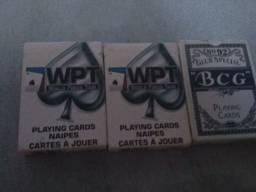 3 caixas de baralho completas