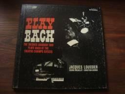 Jacques Loussier Trio Play Bach, Album com 2 Lp Vinil Importados,