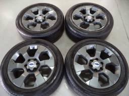 Rodas 20 s10 ranger hilux l200 6x139 com pneus