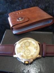 Kits tops relógio bolsa+oculos