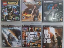 Jogos PS3 R$50