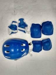 Kit proteção infantil para esportes