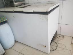 Freezer horizontal duas portas
