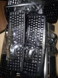 Teclado e mouse USB