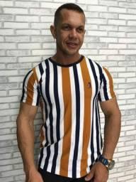 Camisas Gola Careca Masculina