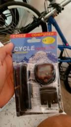 Velocímetro de bike / bicicleta completo todo novo