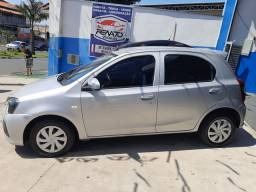 Toyota Etios 2019 1.3 Flex,Completo,Financio,Troco