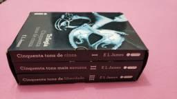 Box - Trilogia Cinquenta Tons de Cinza