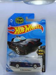 TV Séries Batmobile - Batmóvel - Azul - Hot Wheels