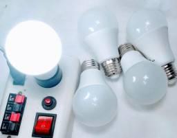 Kit 5 lâmpadas de 15w branco frio