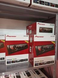 Som automotivo Pioneer MVH S218BT com USB e bluetooth<br><br>