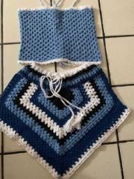 Conjunto de crochê promoção R$ 60,00 reais