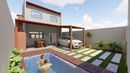 Casa pronta com piscina