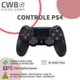 Controle PS4,novo lacrado,com garantia,somos loja física