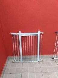 Grade de porta Portão protetor cachorros