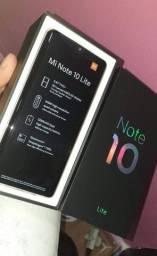 Mi note 10 lite Novo 8 ram 128 GB ( nota e garantia)