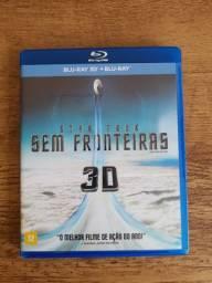 Blu Ray Star Trek Sem Fronteiras em 3D