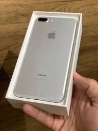 IPhone 7 Plus 32GB Prata Branco - Até 12x R$199,90 no cartão! Na caixa, perfeito! 32 gb