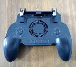 <br><br><br>Controle Joystick Gamepad - Com Cooler (Free Fire/Pugb/COD) 2000mah