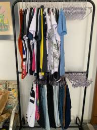 Vendas de roupas no atacado.