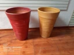 Vasos Grandes Barro Ceramica Ipiranga