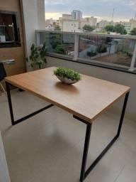 Mesa de Varanda estilo Industrial