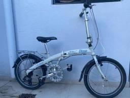 Bicicleta dobravel furtada