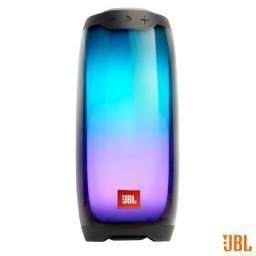 Caixa de Som Bluetooth JBL Pulse 4 com Potência de 20W Preta