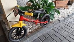 Bicicleta para treino de equilíbrio Nathor NOVA