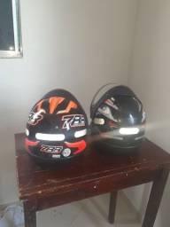 Vendo 2 capacete novo