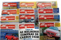 Coleção de revistas 4 Rodas