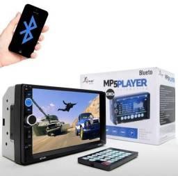 Central Multimídia Mp5 2din Bluetooth