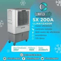 Climatizador Sx 200 em 18x nos cartões