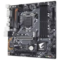 Vendo ~~ Placa-Mãe Gigabyte Aorus B360M Aorus Gaming 3, Intel LGA 1151, mATX, DDR4<br><br><br>