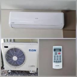 Ar-Condicionado Split Elgin Eco Inverter  24000 BTUs Quente/Frio 220v Usado