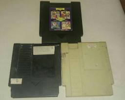 Cartuchos 72 pinos para NES Phantom System ou Turbo Game