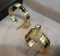 Alianças de Casamento e Noivado Na Moeda Antiga