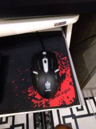 Teclado gamer Rgb é mouse gamer rgb da EVOLUT