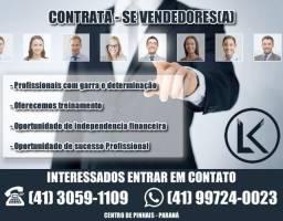 Contrato Vendedor(a) interno (Leia anuncio)