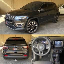 Título do anúncio: Jeep Compass limited 2020 com teto solar e pack high teck, única dona e garantia.