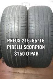 Pneu 215/65/16 Pirelli Scorpion Verde