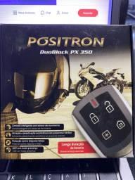 Alarme pósitron duoblok px 350 para moto garantia instalado