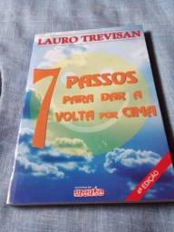 Livro - 7 Passos para dar a volta por cima - Lauro Trevisan - NOVO