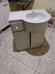 Título do anúncio:  Pia de banheiro com móvel