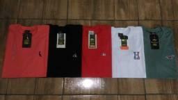 Camiseta Básica Bordada Nova (Tamanho M, G e GG)