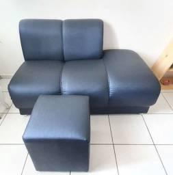 sofá e puff