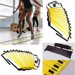 Título do anúncio: Escada de agilidade 10 metros CrossFit treino funcional