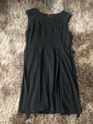 Vestido feminino preto Tam 44