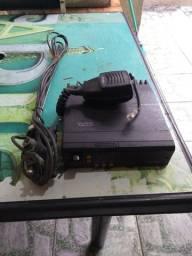 Rádio Motorola que era usado nós táxi