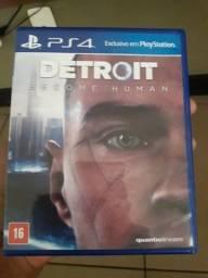 Detroit Become Human para Ps4/Pouco usado 4 mêses